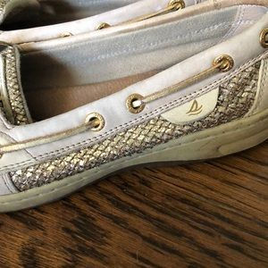 Shoes - Gold Sperry's